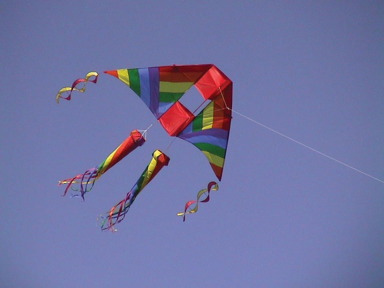 Learn about kites during Family Day on March 19, 2011, at the National Museum of the U.S. Air Force.