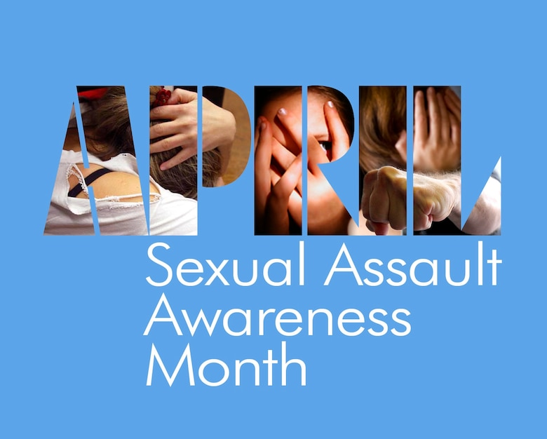 The month of April is designated Sexual Assault Awareness Month (SAAM). The goal of SAAM is to raise public awareness about sexual violence (focusing on sexual assault and rape) and to educate communities and individuals on how to prevent sexual violence. Beginning in 2005, the Air Force commenced the Sexual Assault Prevention and Response Program and assigned full-time sexual assault response coordinators at all main operating installations. (U.S. Air Force graphic by Hans Roth)