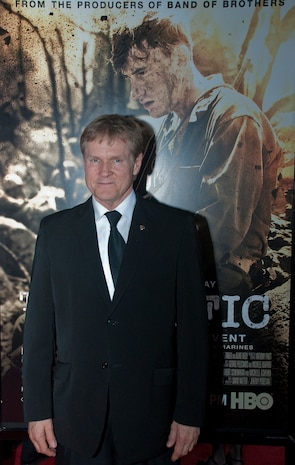 William Sadler plays Lt. Col. Lewis 'Chesty' Puller in HBO's new 10-part miniseries 'The Pacific.'