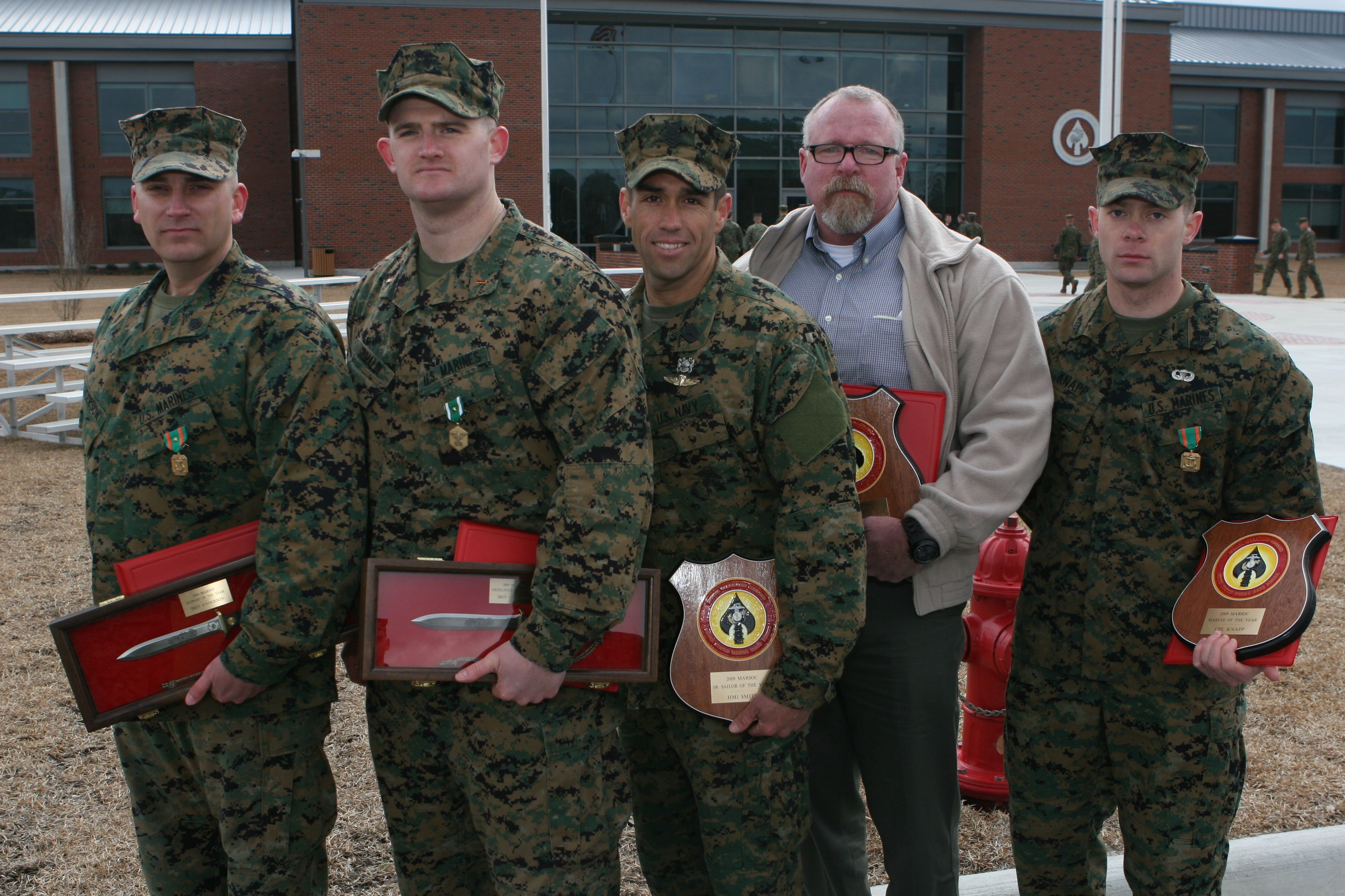 marsoc awards outstanding individuals of 2009  u0026gt  marine corps forces special operations command