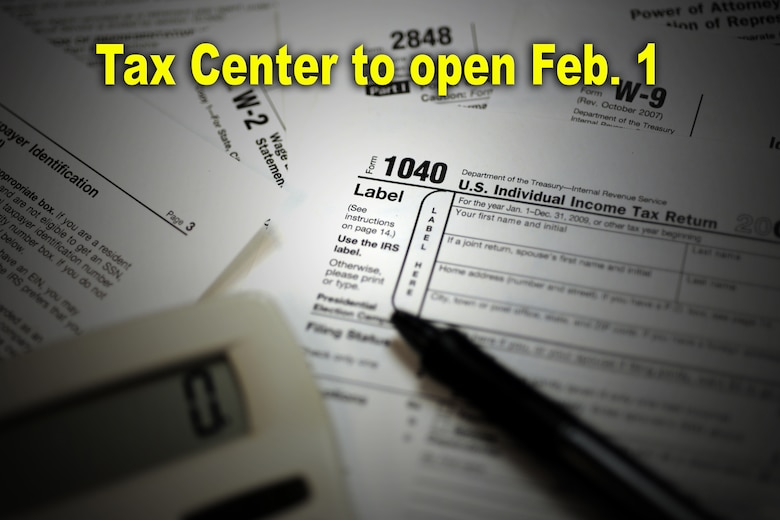 Tax Center To Open Feb 1 Holloman Air Force Base Article Display