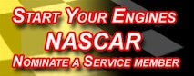 Diageo, sponsor of NASCAR #17 Matt Kenseth, is providing a Service Offering for Service Members.