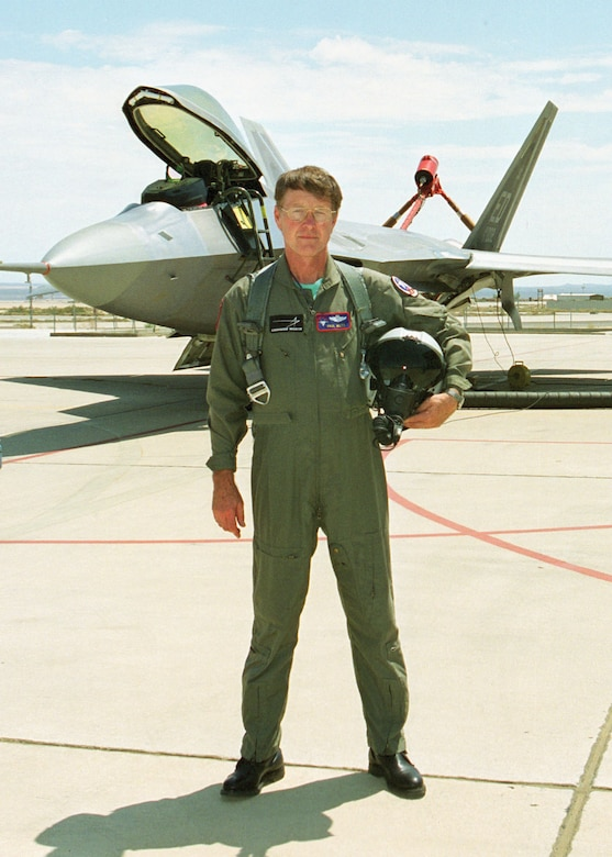 "Mr. Paul Metz will present ""From Weasels to Raptors: A Test Pilot's Story"" at 7:30 p.m. on Nov. 17, 2010. (Photo provided)"