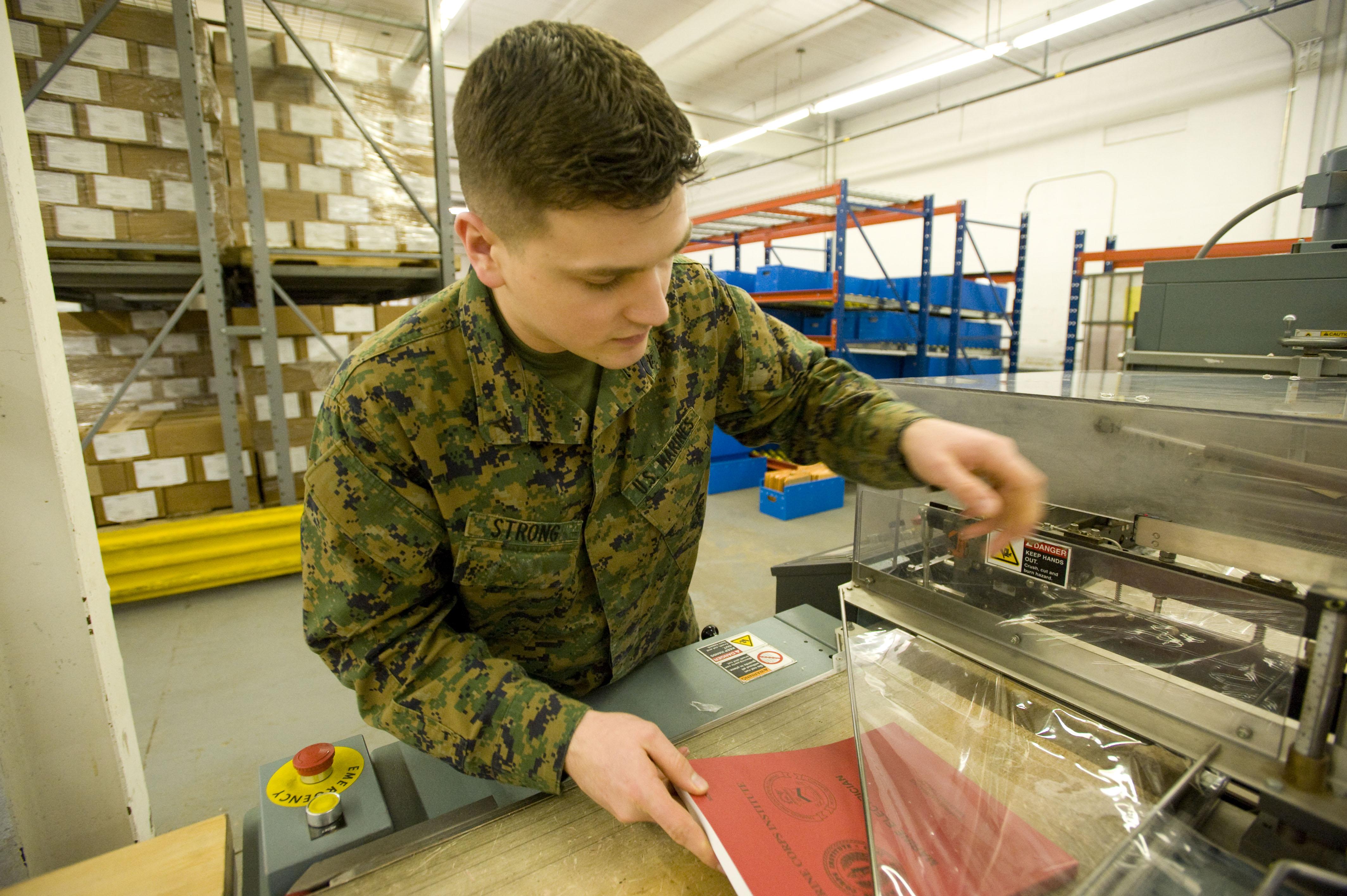 mci logistics delivering education to marines worldwide > marine hi res photo