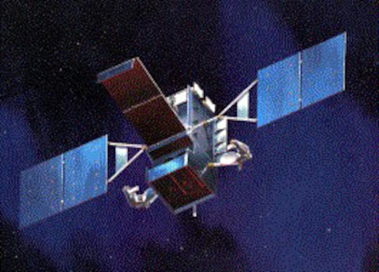 A Space-Based Infrared System GEO-1 Satellite.  (U.S. Air Force file photo)