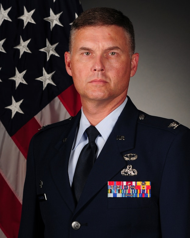 Col. Donald Dickerson, 314th Maintenance Group commander
