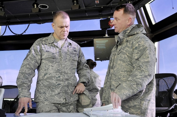 James A. Roy Top enlisted Airman addresses key Cannon issues during