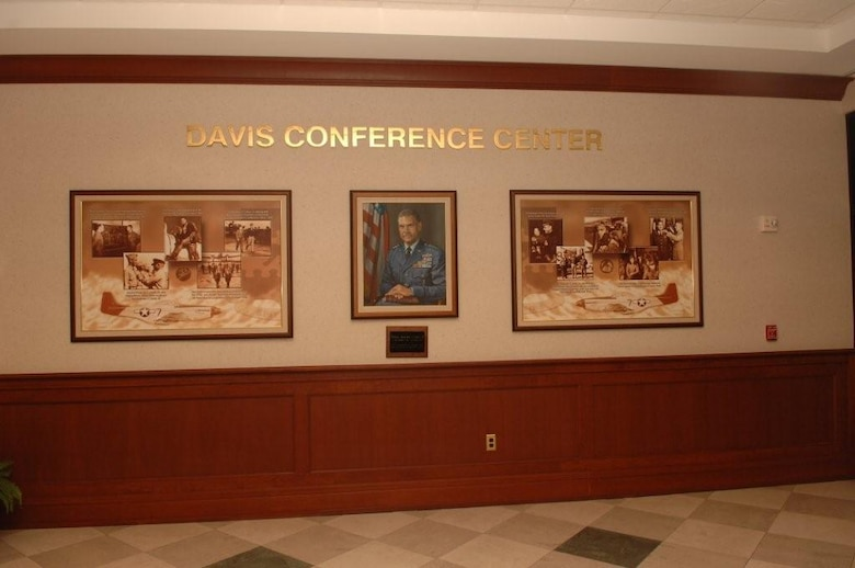 The Davis Conference Center was dedicated on Feb. 7, 2004 in honor of              General Benjamin O. Davis.