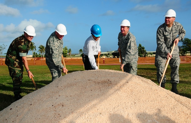 ANDERSEN AIR FORCE BASE, Guam -- Brig. Gen. Phil Ruhlman, 36th Wing