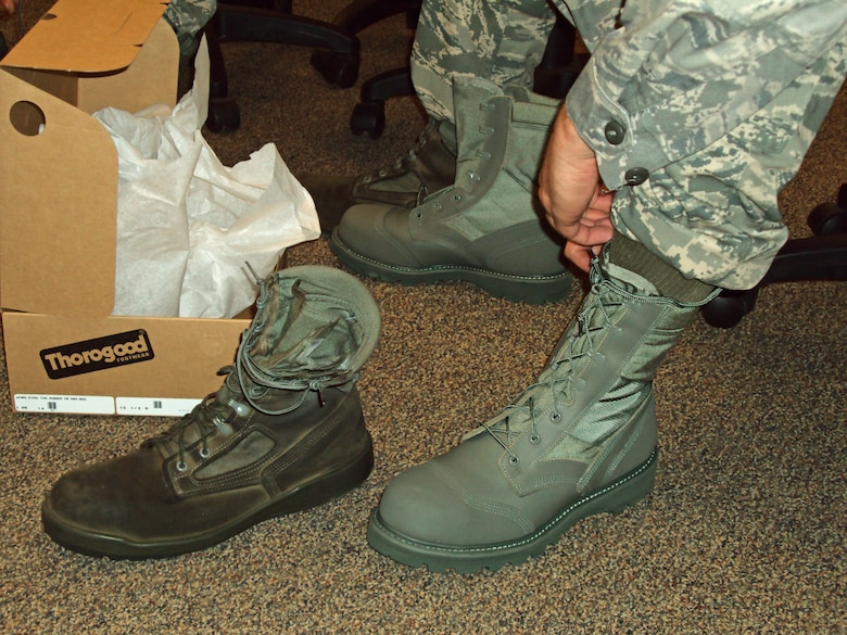 Final combat boot test results are in > U S  Air Force > Article Display