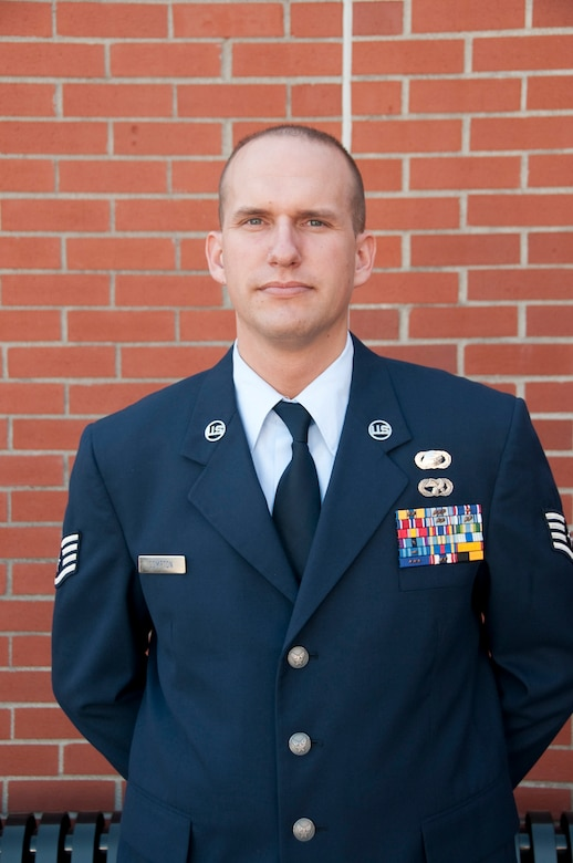 Staff Sgt. Charles Compton, is awarded NCO of the year at the 139th Airlift Wing.