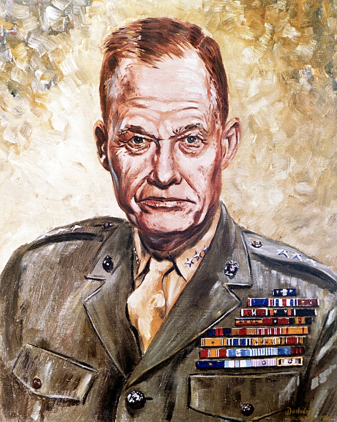 Retired Lt. Gen. Lewis Puller is accounted as the most decorated Marine in history. (Courtesy photo)