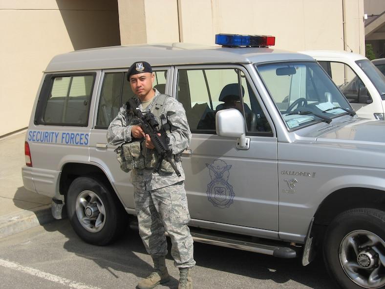 Airman 1st Class Robert Waldron, 51st Security Forces Squadron