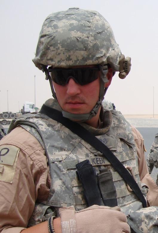 CAMP ARIFIJIAN, Kuwait - Staff Sgt. George William Keen Jr.