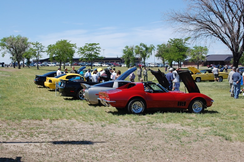One of the many activities to participate in was a car show. (U.S. Air Force photo/Valerie Mullett)
