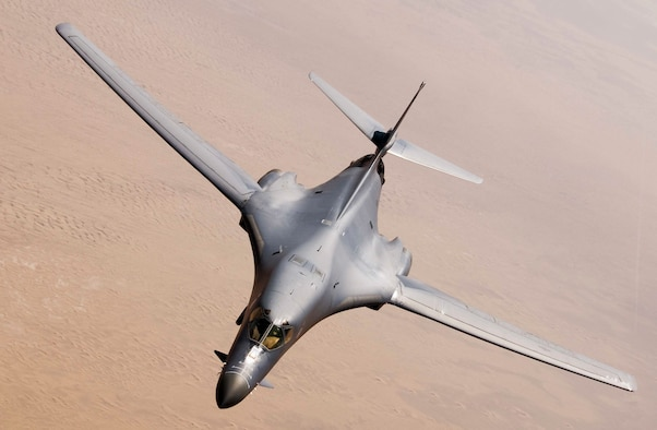 For the first time in 10 years, B-1B Lancer aircraft will replace the B-52 Stratofortress aircraft in support of U.S. Pacific Command's Continuous Bomber Presence mission. This forward deployed presence demonstrates continuing U.S. commitment to stability and security in the Indo-Asia-Pacific region. (U.S. Air Force courtesy photo)