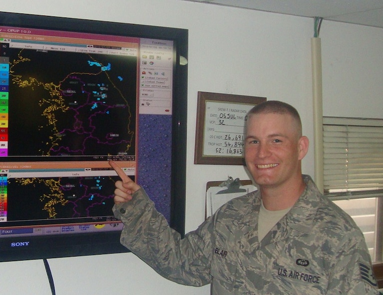 Staff Sgt. Kyle Blair, 51st Operations Support Squadron