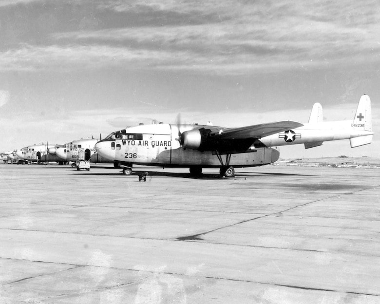 """C-119C """"Flying Boxcar"""" flown from 1961 - 1963"""
