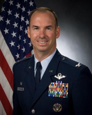 Col. Brian Killough, 42nd Air Base Wing commander (U.S. Air Force/Donna Burnett)