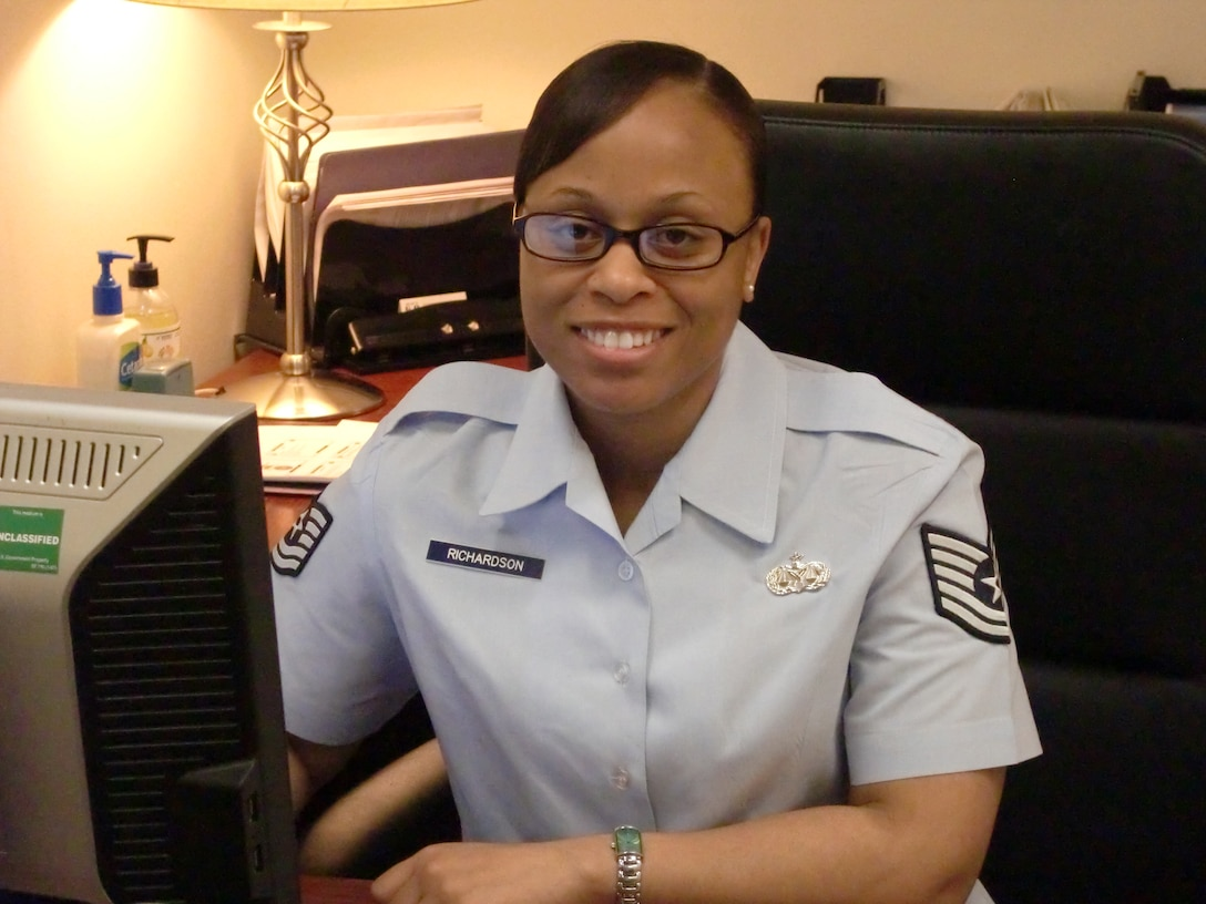 Tech. Sgt. Myisha Richardson