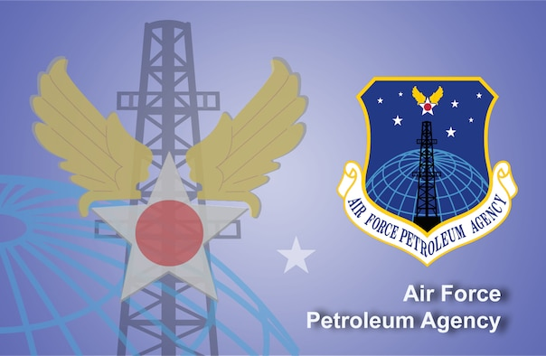 Air Force Petroleum Agency fact sheet banner. (U.S. Air Force graphic by Andy Yacenda, Defense Media Activity-San Antonio)
