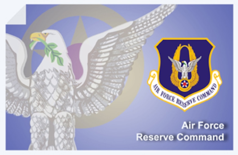 Air Force Reserve Command fact sheet banner. (U.S. Air Force graphic by Andy Yacenda, Defense Media Activity-San Antonio).