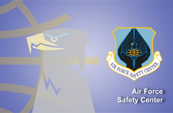 Air Force Safety Center fact sheet banner. (U.S. Air Force graphic by Andy Yacenda, Defense Media Activity-San Antonio)