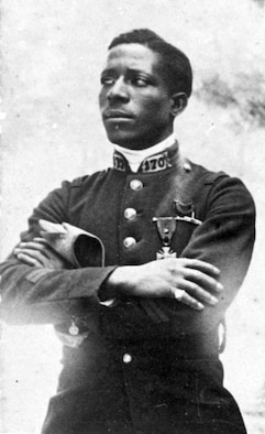 Eugene Jacques Bullard. (U.S. Air Force photo)