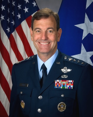 Gen. Stephen R. Lorenz, Air Education and Training Command commander