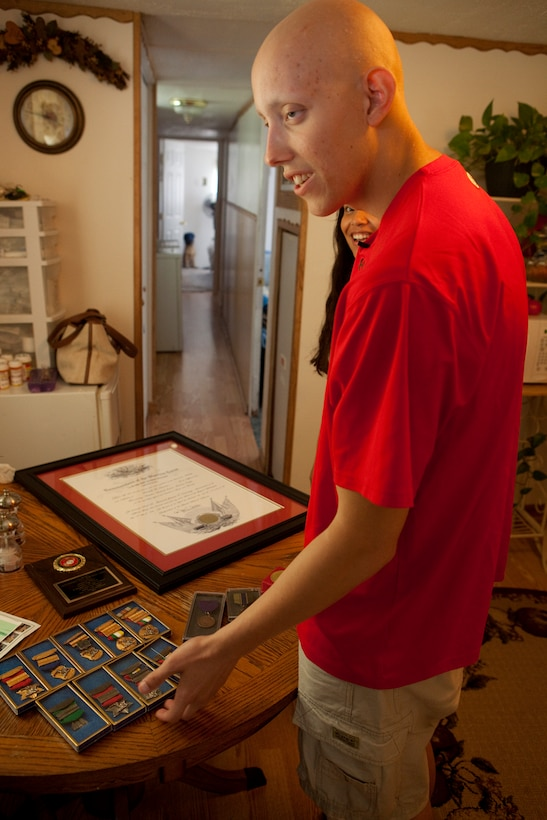 Derrick Owen's Marine Corps aspirations were put on hold when he was diagnosed with cancer Jan. 10. Owen received the title of honorary Marine because of his dedication to the Corps, Owen said that even though he is an honorary Marine he still.