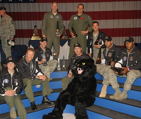 Members of the 137th Space Warning Squadron, 140th Wing, Colorado Air Nation Guard won best Space Operations team, best Security Forces Tactics team and take home Air Force Space Command's 2010 Aldridge Trophy as part of Team Buckley.