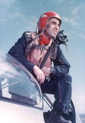 James Jabara, the world's first jet-versus-jet ace. (U.S. Air Force photo)