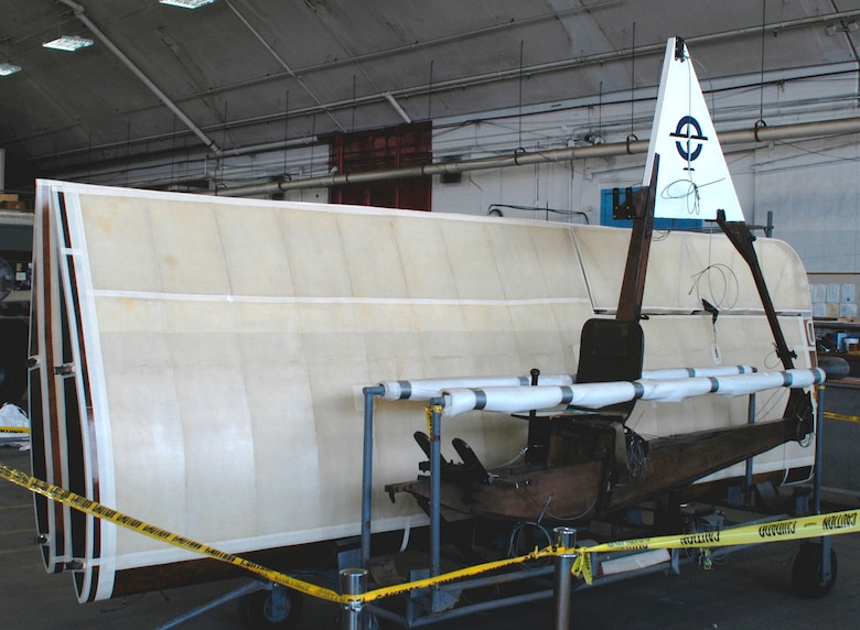 DAYTON, Ohio (06/2010) -- SG 38 Glider in the Restoration Hangar at the National Museum of the U.S. Air Force. (U.S. Air Force Photo)