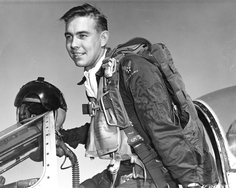 "Capt. Harold ""Hal"" Fischer. (U.S. Air Force photo)"