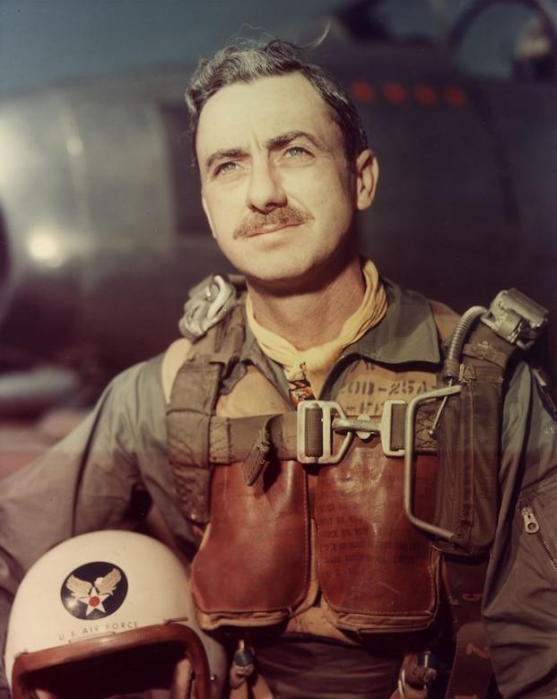 Col. Vermont Garrison during the Korean War. (U.S. Air Force photo)