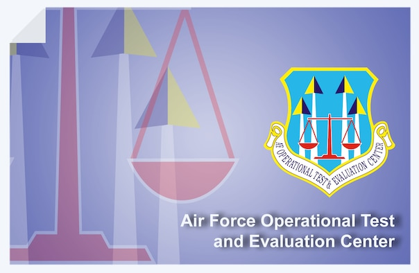 Air Force Operational Test & Evaluation Center web banner. (U.S. Air Force graphic by Andy Yacenda, Defense Media Activity-San Antonio)