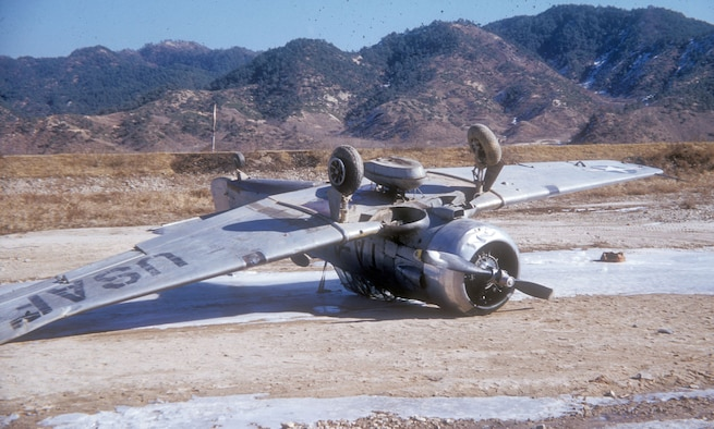 Rough airstrips increased the likelihood of accidents. (U.S. Air Force photo)