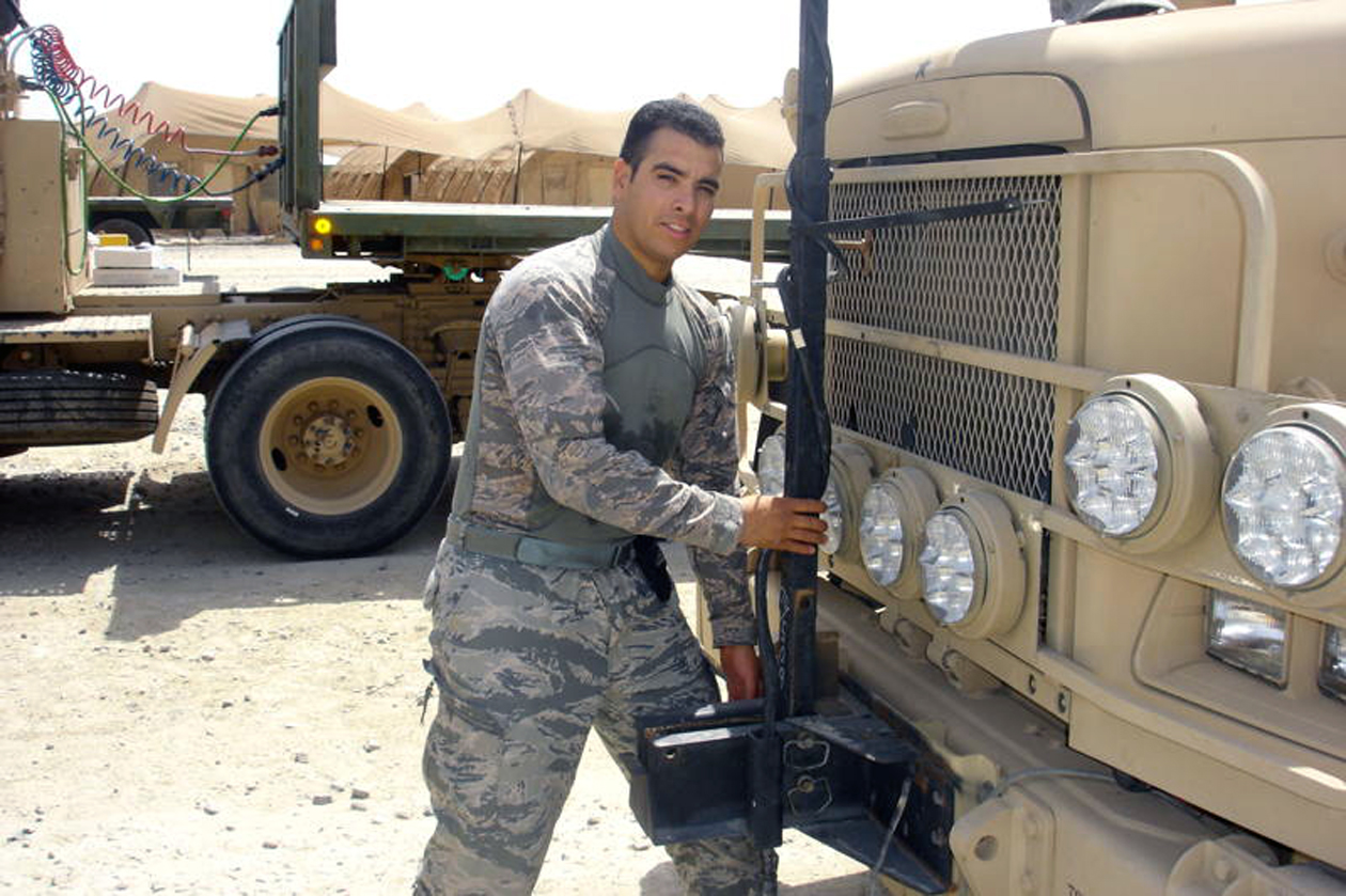 Vehicle operator traverses Iraqi streets to deliver vital supplies ...