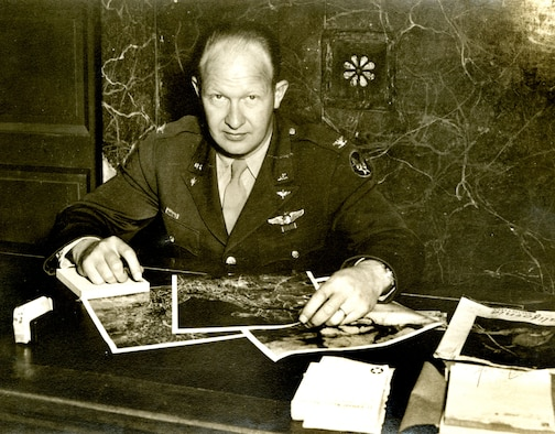 "Col. Karl ""Pop"" Polifka, whose efforts improved reconnaissance effectiveness in Korea. (U.S. Air Force photo)"
