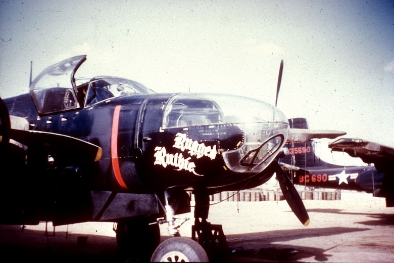 RB-26Cs carried cameras in the nose and in the fuselage behind the wings. (U.S. Air Force photo)