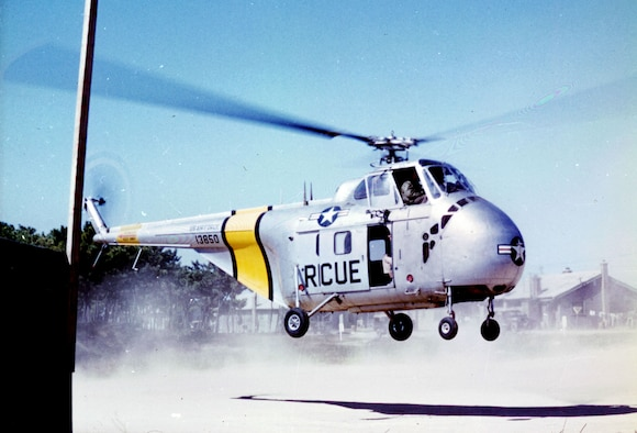 The larger and more capable SH-19A supplemented the H-5. (U.S. Air Force photo)