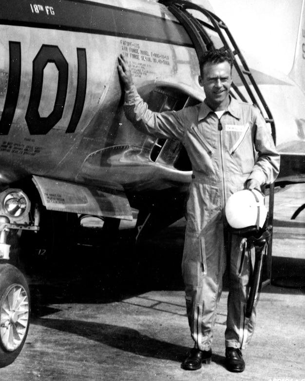 Maj. Louis J. Sebille. (U.S. Air Force photo)