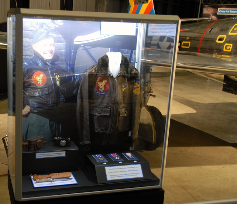 DAYTON, Ohio -- Col. Joseph Davis Jr. exhibit in the Korean War Gallery at the National Museum of the U.S. Air Force. (U.S. Air Force photo)