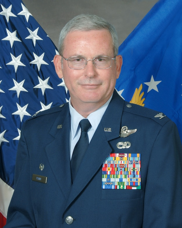 Col. David Penny, 731st Air Mobility Squadron commander