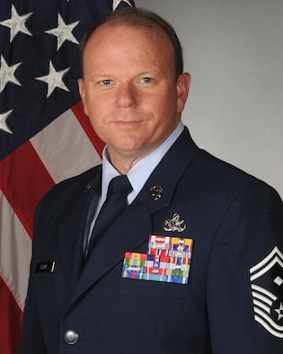 Senior Master Sgt. Jim Albini, 314th Aircraft Maintenance Squadron first sergeant