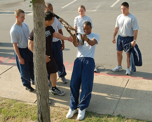 Bodyweight Exercises Chart: Wolf Pack Airmen7s fitness goes mobile with TRX suspension ,Chart