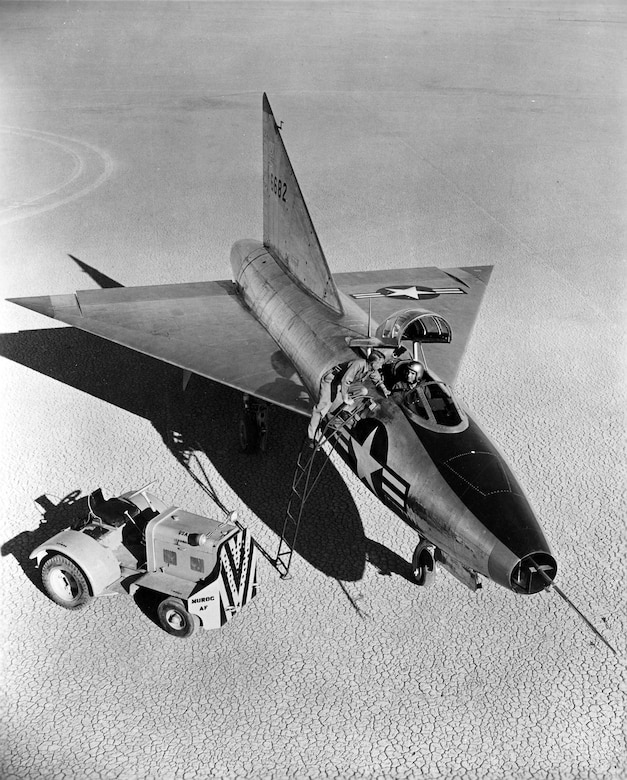 Convair XF-92A. (U.S. Air Force photo)