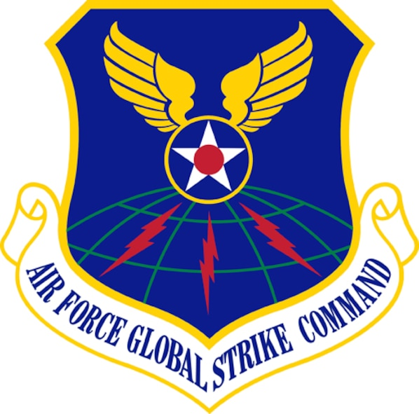 Air Force Global Strike Command Image provided by the Institute of Heraldry. In accordance with Chapter 3 of AFI 84-105, commercial reproduction of this emblem is NOT permitted without the permission of the proponent organizational/unit commander. The image is 7x7 inches @ 300 dpi.