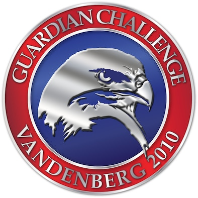 VANDENBERG AIR FORCE BASE, Calif. --  Vandenberg's 2010 Guardian Challenge logo. (U.S. Air Force graphic/Jan Kays)