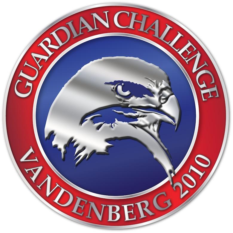 VANDENBERG AIR FORCE BASE, Calif. --  Vandenberg's 2010 Guardian Challenge logo. (U.S. Air Force graphic/Jan Kays)